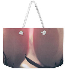 Weekender Tote Bag featuring the photograph Ticklish Roses by The Art Of Marilyn Ridoutt-Greene