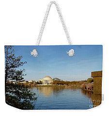 Tidal Basin And Jefferson Memorial Weekender Tote Bag