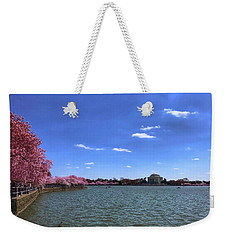Tidal Basin Cherry Blossoms Weekender Tote Bag