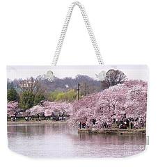 Tidal Basin Cherry Trees Weekender Tote Bag