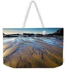 Tidal Patterns Weekender Tote Bag