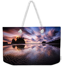 Tidal Reflection Serenity Weekender Tote Bag