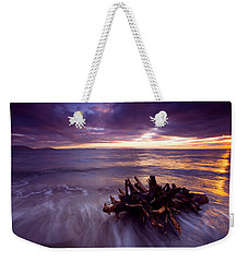 Tide Driven Weekender Tote Bag