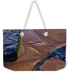 Tide Ripple Weekender Tote Bag by Craig Wood