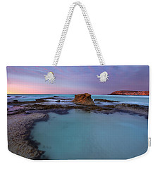Tidepool Dawn Weekender Tote Bag by Mike  Dawson