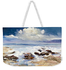 Tidepool Weekender Tote Bag by Helen Harris