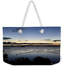 Tides At Dawn On Casco Bay Weekender Tote Bag by Patricia E Sundik