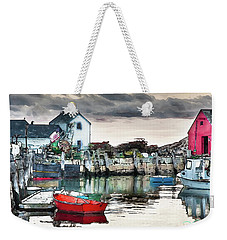 Tide's Out Weekender Tote Bag by Tom Cameron