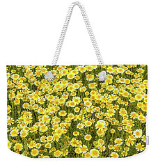 Weekender Tote Bag featuring the photograph Tidy Tips by Marc Crumpler