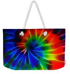 Tie Dye Weekender Tote Bag