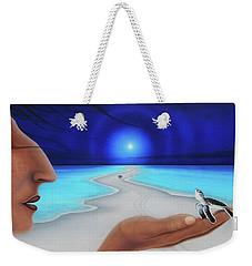 Tiempo Y Espacio Version Lv Weekender Tote Bag