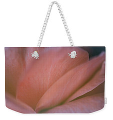 Weekender Tote Bag featuring the photograph Tierna Romantica by The Art Of Marilyn Ridoutt-Greene