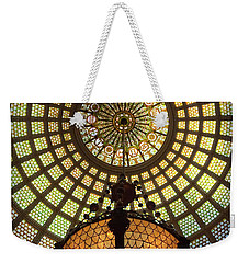 Tiffany Ceiling In The Chicago Cultural Center Weekender Tote Bag