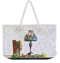 Tiffany Lamp Weekender Tote Bag by Bill Cannon
