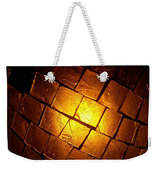 Weekender Tote Bag featuring the photograph Tiffany Lamp by Robert Knight