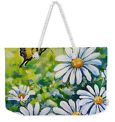 Tiger And Daisies  Weekender Tote Bag