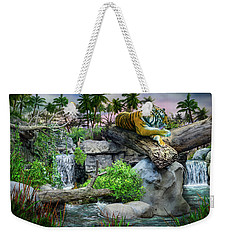Tiger At Dusk Weekender Tote Bag
