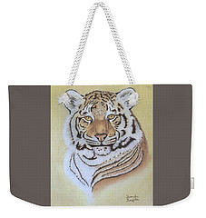 Tiger Weekender Tote Bag by Brenda Bonfield