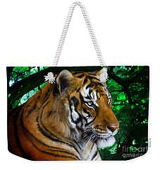 Tiger Contemplation Weekender Tote Bag