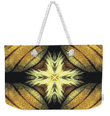 Tiger Cross Weekender Tote Bag by Maria Watt