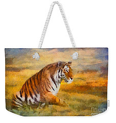 Tiger Dreams Weekender Tote Bag by Aimelle