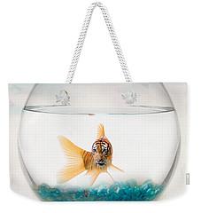 Tiger Fish Weekender Tote Bag by Juli Scalzi