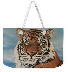 Bengal Tiger Weekender Tote Bag by Jean Walker