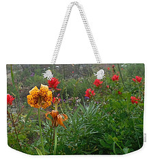 Tiger Lillies And Indian Paintbrush Weekender Tote Bag