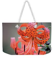 Tiger Lily 2 Weekender Tote Bag