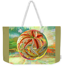 Weekender Tote Bag featuring the digital art Tiger Lily Dream by Robin Moline