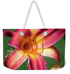Tiger Lily Close Up Weekender Tote Bag