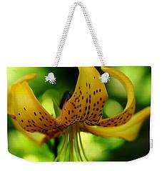 Tiger Lily Weekender Tote Bag by Debbie Oppermann