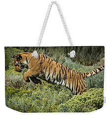 Tiger Lily Leeping Weekender Tote Bag