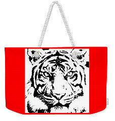 Tiger Weekender Tote Bag by Now