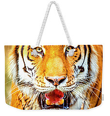 Tiger On The Hunt Weekender Tote Bag