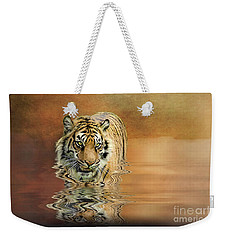 Tiger Reflections Weekender Tote Bag
