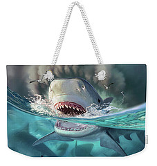 Tiger Sharks Weekender Tote Bag