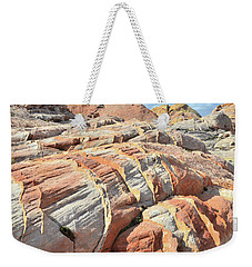 Tiger Stripes In Valley Of Fire Weekender Tote Bag