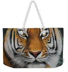 Tiger - The Heart Of India Weekender Tote Bag