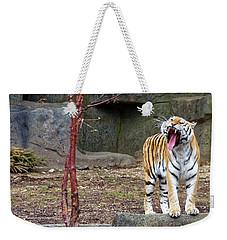 Tiger Tiger Burning Bright Weekender Tote Bag