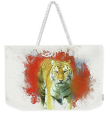 Tiger Two Weekender Tote Bag