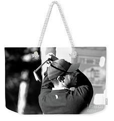 Tiger Woods Blk Wht  Weekender Tote Bag