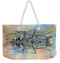 Tigerbeetlelandscape Weekender Tote Bag