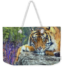 Tigerland Weekender Tote Bag by Michael Cleere