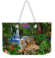 Tigers Of The Forest Weekender Tote Bag
