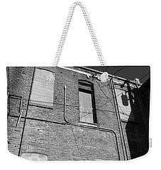 Tightrope My A.. Weekender Tote Bag by Marie Neder