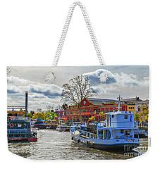Weekender Tote Bag featuring the photograph Freedom by Bernardo Galmarini