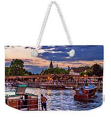Weekender Tote Bag featuring the photograph Tigre 005 by Bernardo Galmarini
