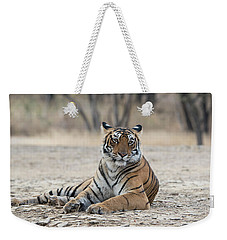 Tigress Arrowhead Weekender Tote Bag by Pravine Chester