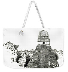 Tikal Temple I Weekender Tote Bag